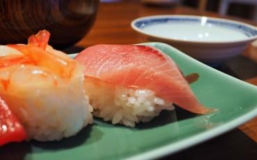 Un sushi de Buri