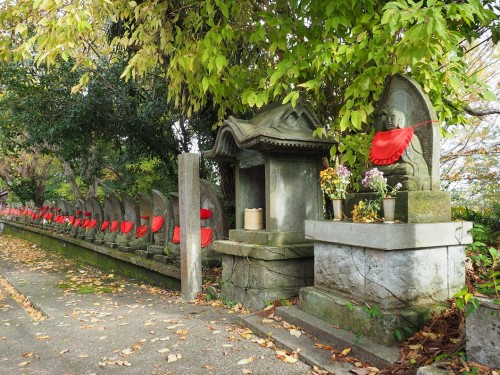 Himi, Mer du Japon, Japon, Temples