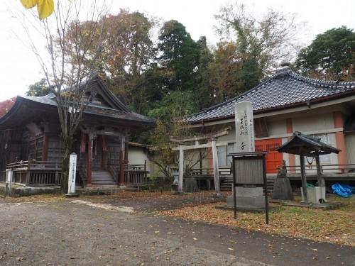 Himi, Mer du Japon, Japon, Temples, Koyo, Automne, Temple Senju-ji
