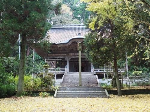 Himi, Mer du Japon, Japon, Temples, Koyo, Automne, Temple Sapporo-ji