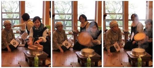 Yamakoshi, écotourisme, agriculture, Japon, Niigata, riz, repas