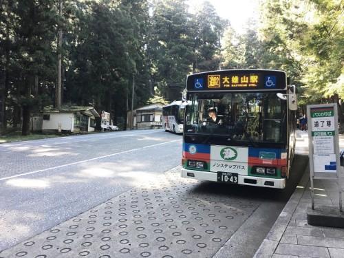 Daiyuzan Saijo-ji, temple, Hakone, Mont Fuji, Tengu, bus