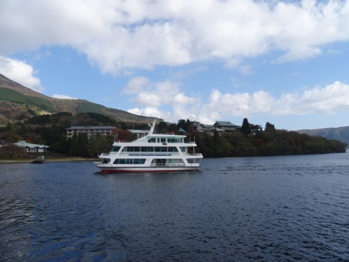 Lac Ashi, Hotel Prince Hakone, Seibu, Mont Fuji, Japon, Bateau Seibu