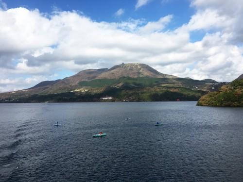 Lac Ashi, Hotel Prince Hakone, Seibu, Mont Fuji, Japon, Croisière sur le lac Ashi