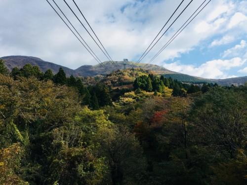 Lac Ashi, Hotel Prince Hakone, Seibu, Mont Fuji, Japon, Téléphérique Komagatake