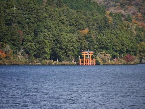 Lac Ashi, Hotel Prince Hakone, Seibu, Mont Fuji, Japon, Tori