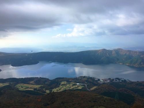 Lac Ashi, Hotel Prince Hakone, Seibu, Mont Fuji, Japon