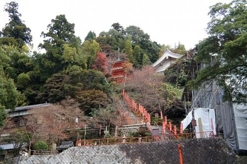 Chikubu-shima, Hikone, île sacrée, lac Biwa, Shiga, Pagode