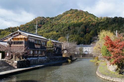 Omihachiman, Lac Biwa, Baumkuchen, époque Edo, mont Hachiman