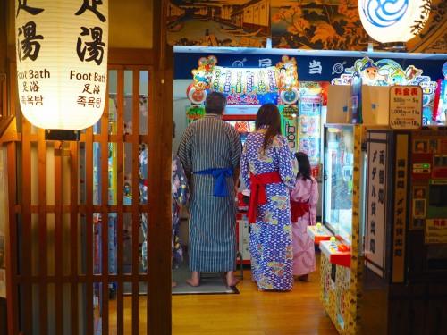 Tokyo la nuit, Kabuki, Roppongi, Shinjuku, Sortie, Concert, Oedo Onsen Monogatari