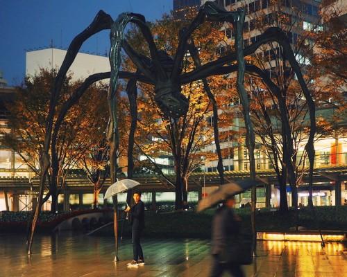 Tokyo la nuit, Kabuki, Roppongi, Shinjuku, Sortie, Concert, Louise Bourgeois