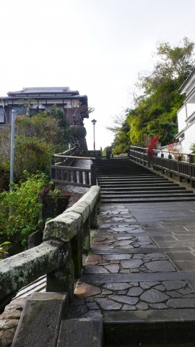 Kitsuki, ville-sandwich, oita, samouraï, Kyushu