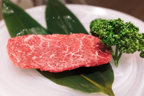 bœuf de Kobe, teppanyaki, cuisine japonaise, A5, persillage