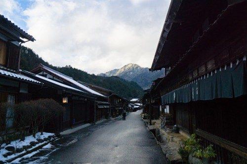 Tsumago, Nakasendo, Nagano, Edo, Japon