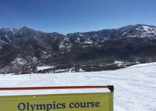 Shiga Kogen, Nagano, Station de ski, Japon, neige, Olympics course