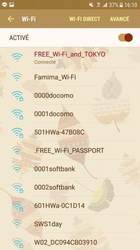 Test, Wifi gratuit de Tokyo, Connexion internet, Tokyo Wi-Fi