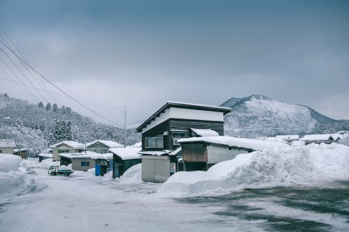Takane, neige, séjour à la ferme, raquettes, Niigata