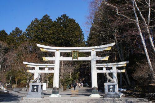 Mitsumine, Chichibu, Saitama, Seibu, Torii du Mitsumine-jinja, loups