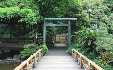 Togo shrine, Tokyo, Japon.