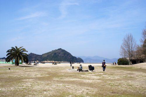 Magnifiques paysages de l'île d'Okunoshima, Préfecture d'Hiroshima, Japon