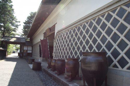 Galerie d'art au musée des cultures du Nord à Niigata, Japon
