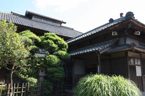 La résidence principale du musée des cultures du Nord à Niigata, Japon