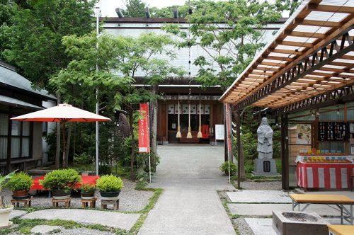 Petit sanctuaire de la ville de Kochi, sur l'île de Shikoku, Japon
