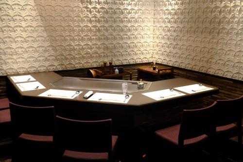 Restaurant pour déguster du boeuf Kobe dans le style Teppanyaki