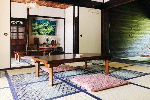 Le restaurant Botanchaya près de Toon, préfecture d'Ehime, Japon