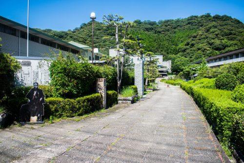Visite de la voie de l'Histoire et de la Littérature à Saiki, préfecture d'Oita, Japon