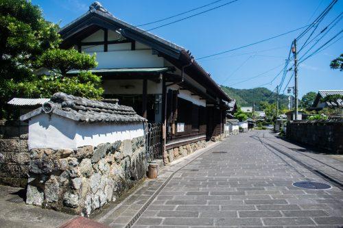 Ancien quartier des samouraïs dans la ville de Saiki, préfecture d'Oita, Japon