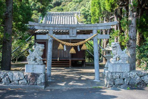 Sanctuaire sur l'île d'Ohnyujima, préfecture d'Oita, Japon