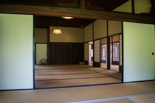 Maison traditionnelle à Usuki, préfecture d'Oita, Japon