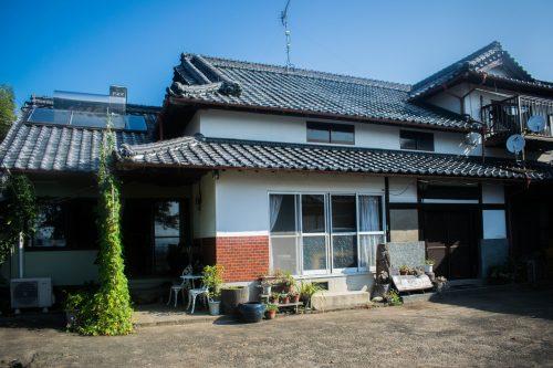 Ferme près de la ville d'Usuki, préfecture d'Oita, Japon