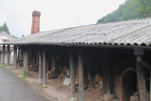 Fours à céramiques dans le village de Onta dans la préfecture d'Oita, Kyushu, Japon