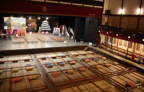Théâtre ancien à Iizuka, préfecture de Fukuoka, Kyushu, Japon