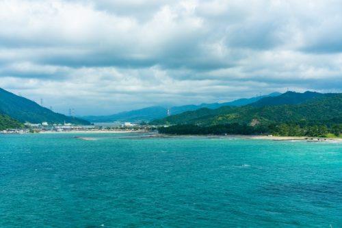 Plage certifiée Pavillon Bleu à Takahama, préfecture de Fukui, Japon
