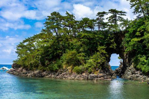Grotte Meikyodo à Takahama, préfecture de Fukui, Japon