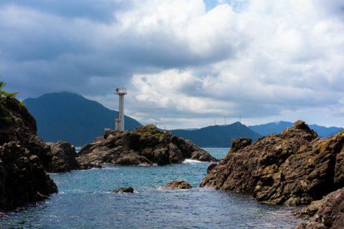 Bord de mer à Takahama, préfecture de Fukui, Japon