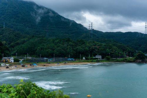 Plage Nabae à Takahama, Préfecture de Fukui, Japon