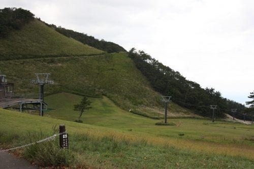 Les pistes de ski du Mt Daisen dans la préfecture de Tottori, Japon