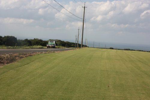 Terrains de golf sur le Mt Daisen dans la préfecture de Tottori, Japon