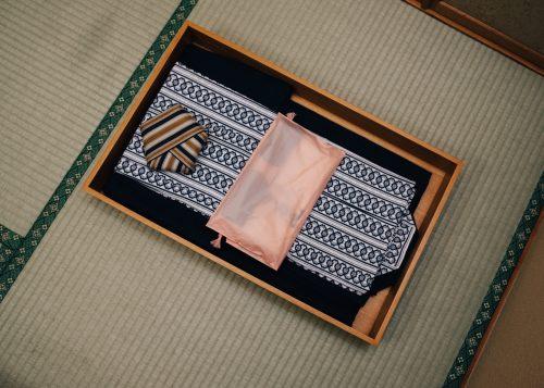 Chambre dans le ryokan Shikisai no Yado Kanoe à Iiyama, préfecture de Nagano, Japon