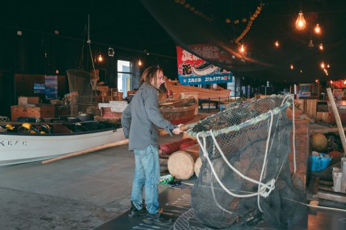 Himi Fishing Culture Center, Himi, baie de Toyama, Japon