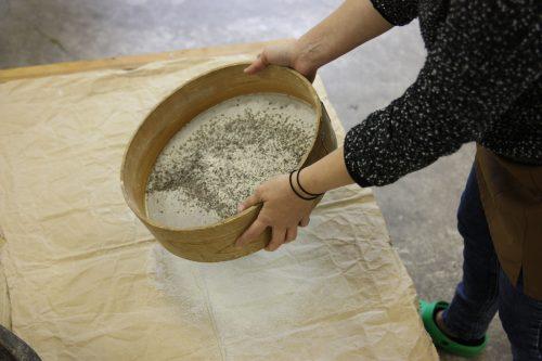 Confection de nouilles soba, vallée d'Iya, préfecture de Tokushima, Shikoku, Japon
