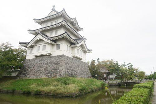 Château d'Oshi à Gyoda, non loin de Kumagaya dans la préfecture de Saitama, Japon