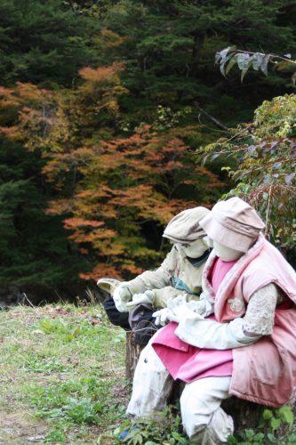 Kakashi No Sato, vallée d'Iya, préfecture de Tokushima, Shikoku, Japon