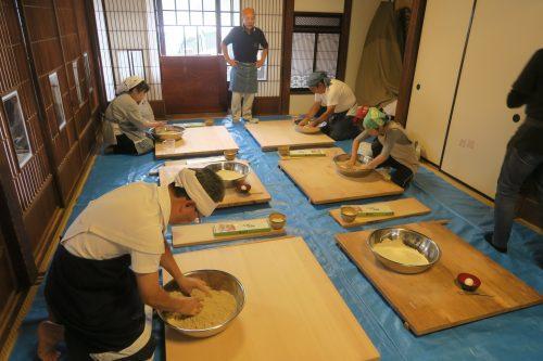 Atelier dans l'une des maisons traditionnelles de la vieille ville de Gyoda, non loin de Kumagaya dans la préfecture de Saitama, Japon