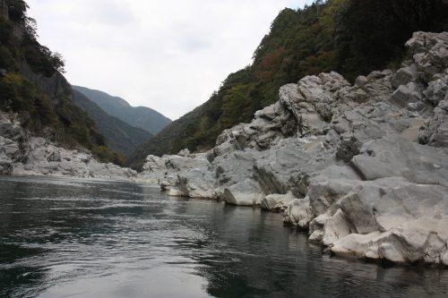 Gorges d'Oboke, préfecture de Tokushima, Shikoku, Japon