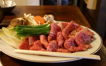Bœuf de Murakami Niigata Wagyu Sukiyaki Spécialités Locales Restaurants Nourriture